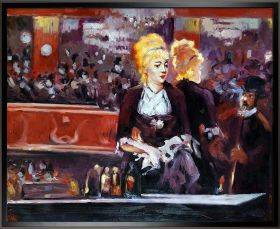 Study for A Bar at the Folies Bergere Pre-Framed
