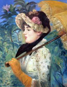 Spring (Study of Jeanne Demarsy)