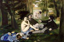 Luncheon on the Grass, 1863