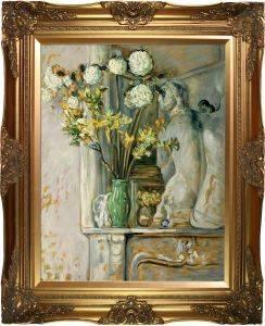 Guelder Roses and the Venus of Milo Pre-Framed