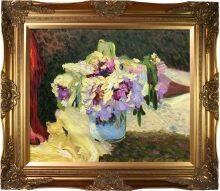 Vase of Flowers Pre-Framed