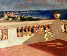 The Bay of Cannes, Seen from the Terrace