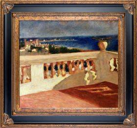 The Bay of Cannes, Seen from the Terrace Pre-Framed