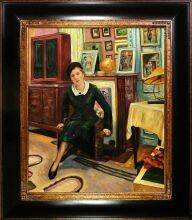 The Countess Lanskoy Pre-Framed