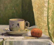 Cup and Mandarin