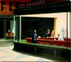 Night Hawks, 1942 Gallery Wrap