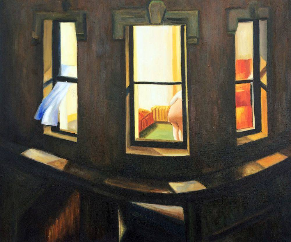 Edward Hopper In A Hotel Room