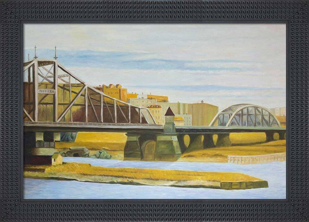 Macomb's Dam Bridge, 1935 Pre-Framed