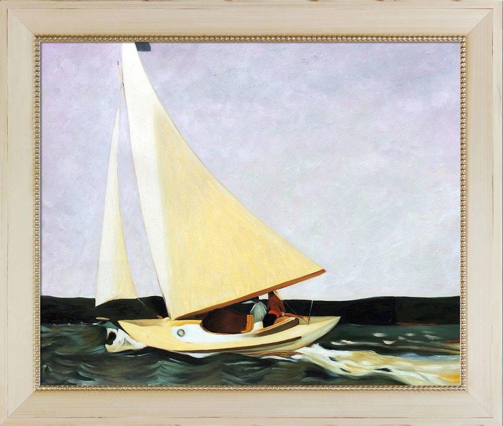 Sailing, 1911 Pre-Framed