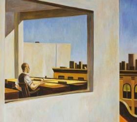 Office in a Small City, 1953