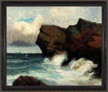 Ocean Cliffs Preframed
