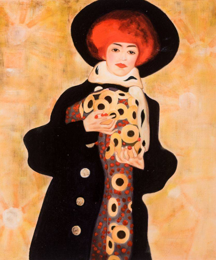 Woman with Black Hat, 1909
