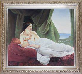Reclining Odalisque Pre-Framed
