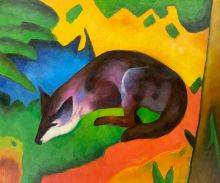 Blue Black Fox
