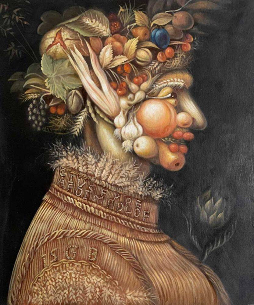 Giuseppe Arcimboldo Summer (Portrait)