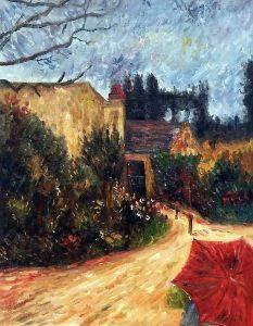 Pissarro's Garden, Pontoise 1881