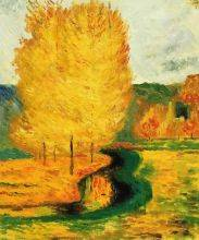 By the Stream, Autumn, 1885