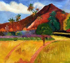 Tahitian Mountains, 1893