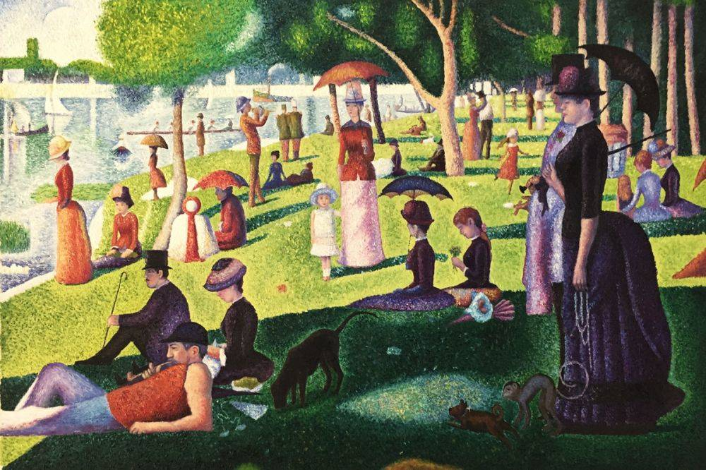 Image result for A Sunday Afternoon on the Isle of La Grande Jatte