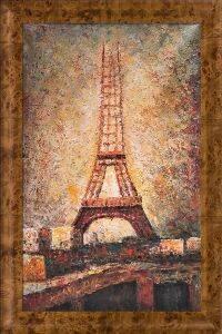 The Eiffel Tower Pre-Framed