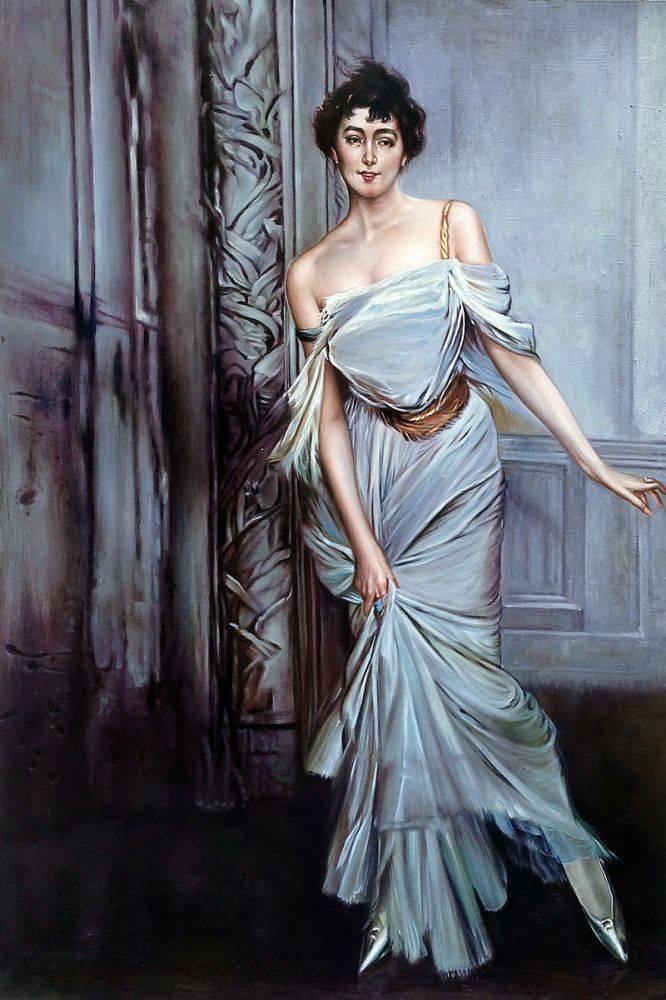 Madame Charles Max, 1896