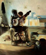 The Banjo Lesson