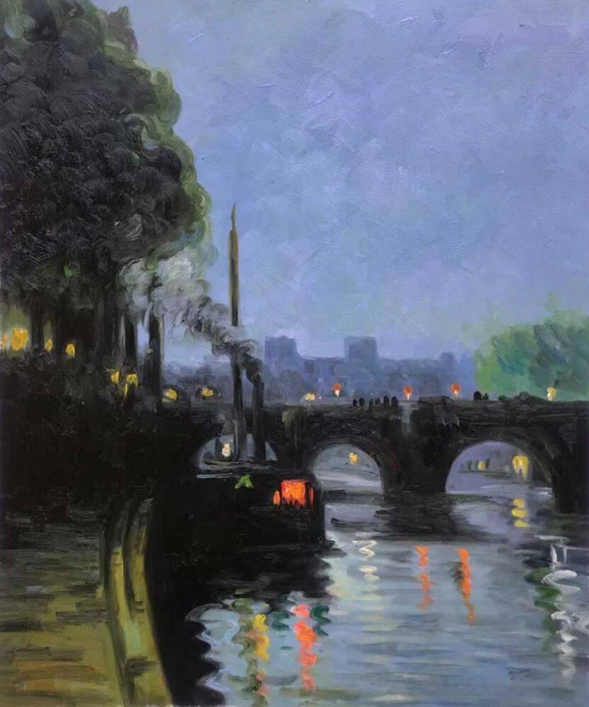 The Seine - Evening