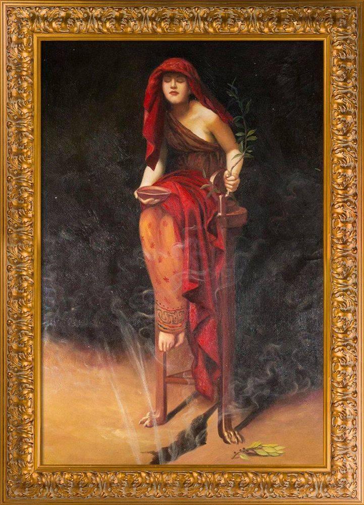 Priestess of Delphi Pre-Framed