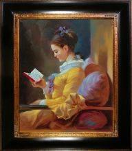 The Reader Pre-Framed