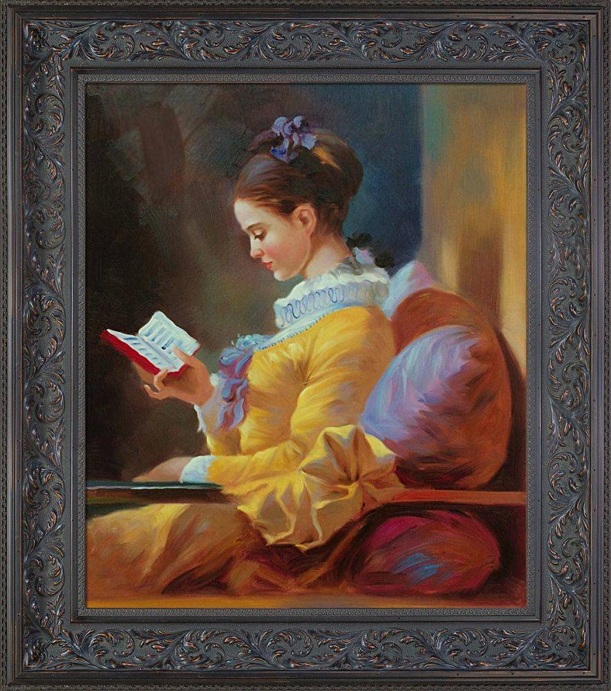 The Reader Pre-Framed