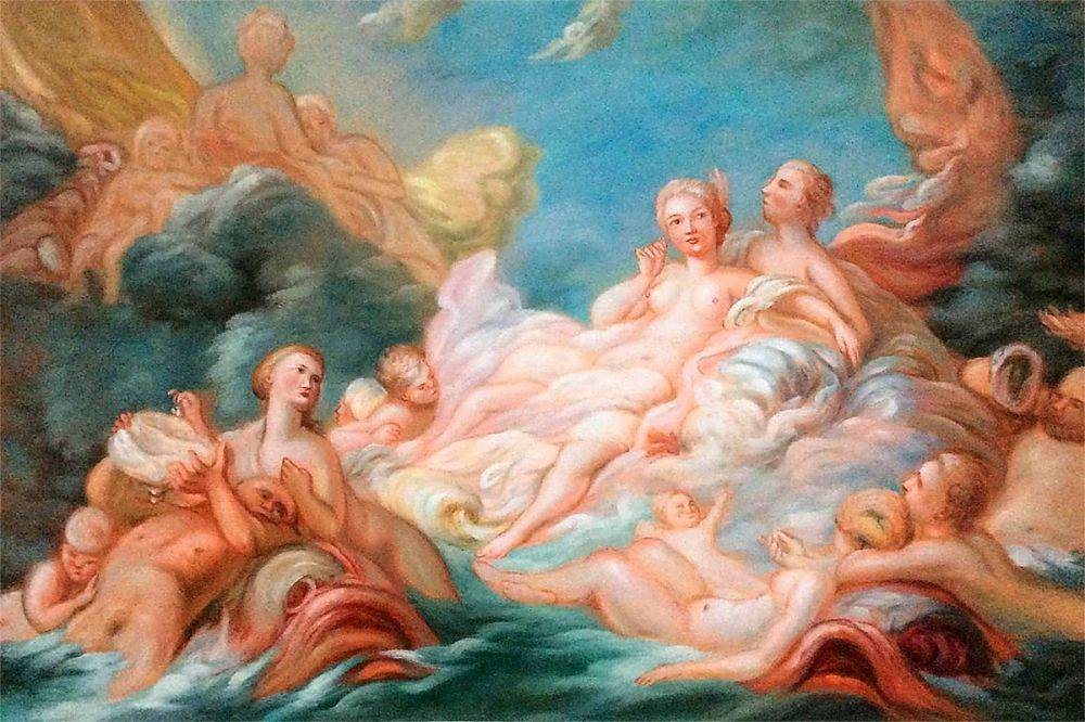 The Birth of Venus, 1753-1755