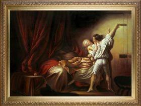 The Bolt c. 1778 Pre-Framed