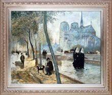Notre-Dame de Paris Pre-Framed