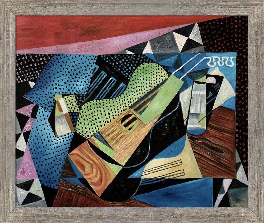 Cubist Still Life Pre-Framed