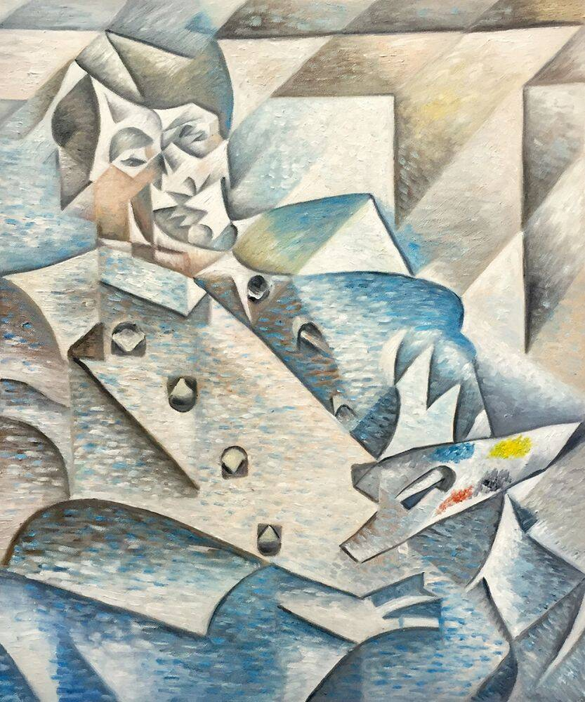 ศิลปะลัทธิบาศกนิยม ( Cubism ) ค.ศ.1907-1910
