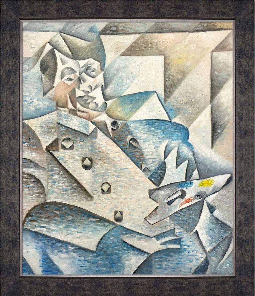 Portrait of Pablo Picasso Preframed