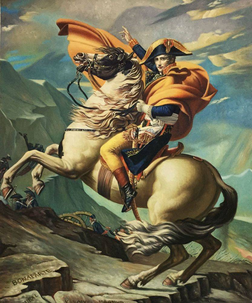 Napoleon Crossing the Alps, 1801