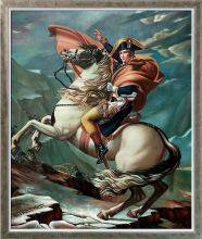 Napoleon Crossing the Alps, 1801 Pre-Framed