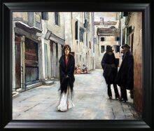 Street in Venice Pre-Framed