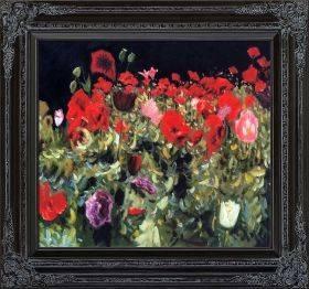 Poppies Pre-Framed