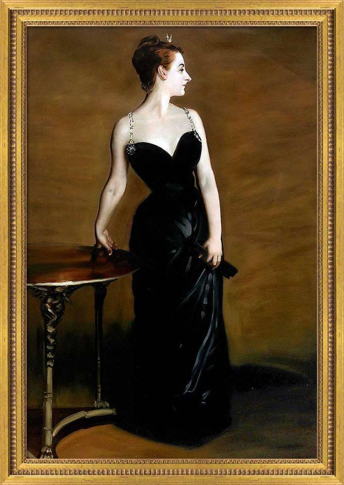 Portrait of Madame X Pre-Framed