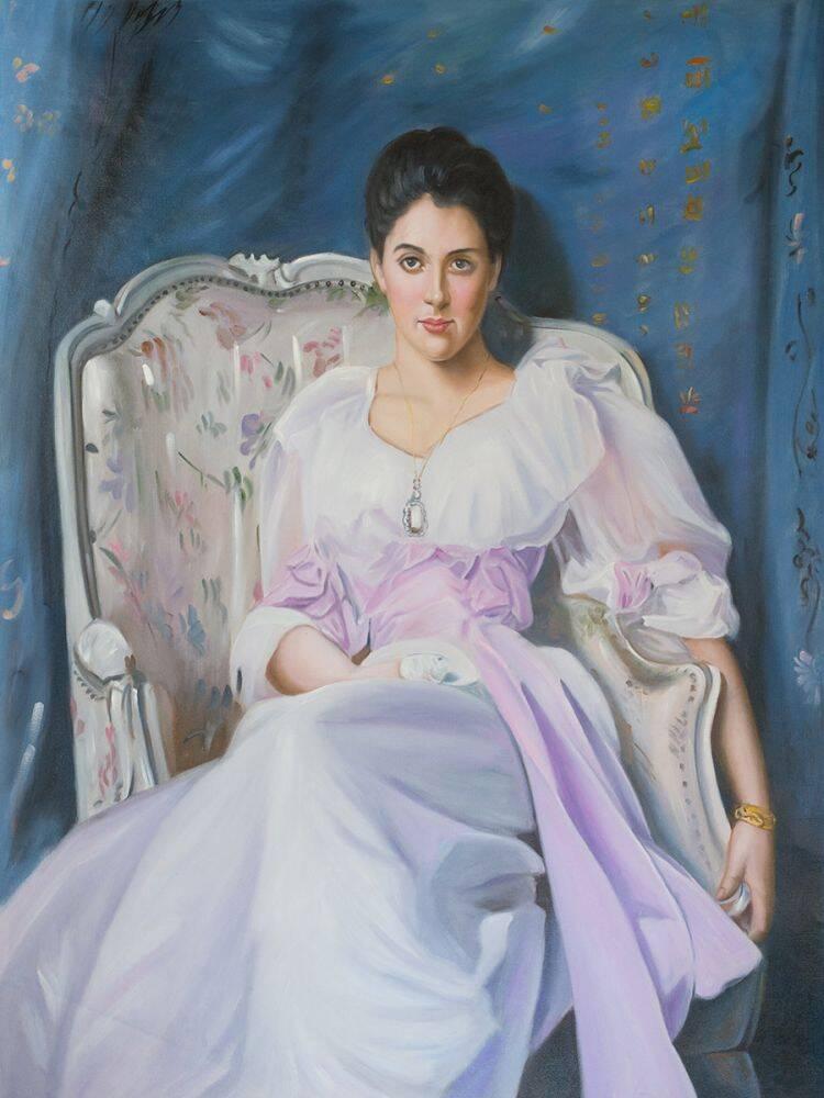 Lady Agnew of Lochnaw, 1892-93