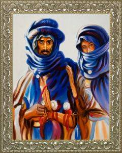 Bedouins, 1905 Pre-Framed