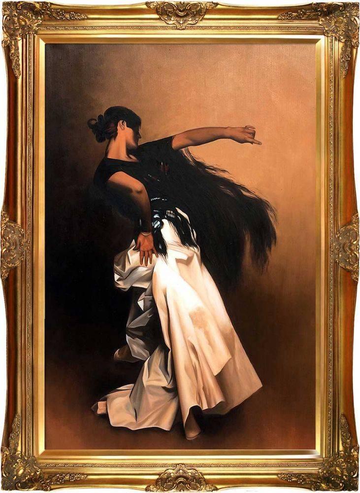 Study for Spanish Dancer, 1879-1882 Pre-Framed