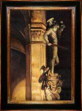 Statue of Perseus by Night, 1902 Pre-Framed