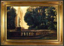 Villa Torlonia, Fountain, 1907 Pre-Framed