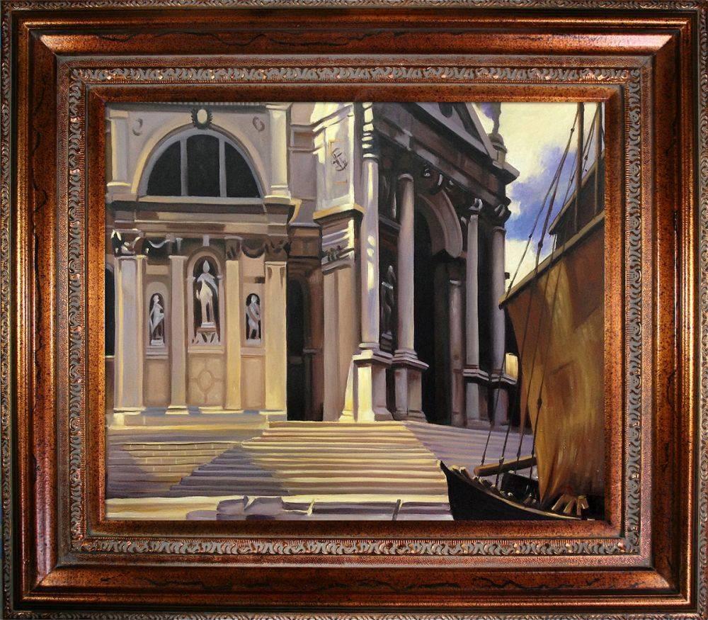 Santa Maria della Salute Pre-Framed
