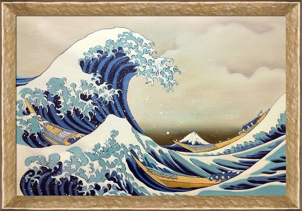 The Great Wave off Kanagawa Pre-Framed