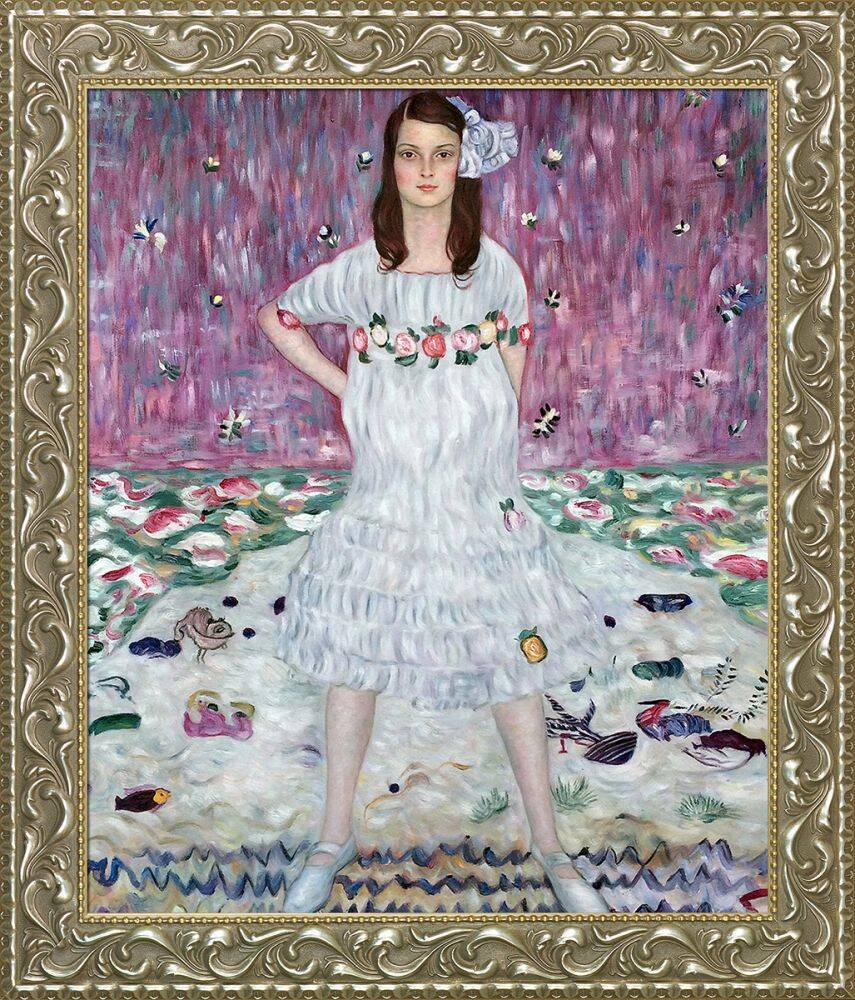 Portrait of Mada Primavesi Preframed