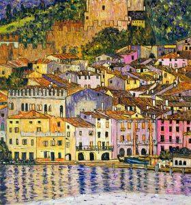 Malcesine on Lake Garda,1913